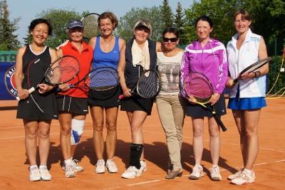 vlnr: Asija Schäfer, Ute Berlin, Katrin Ziegler, Birgit Krage, Rosemarie Vornehm-Schönegg, Sabine Zollweg, Britta Otte (Foto: privat)