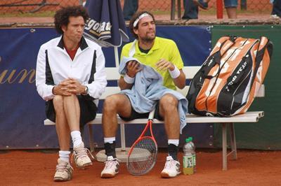 Younes El Aynaoui und Jeremy Chardy