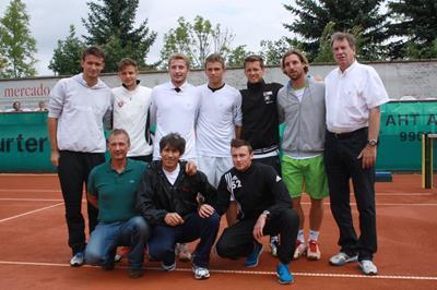 Team des Rochusclub Düsseldorf