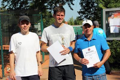 Siegerehrung: Herren v.l.n.r.: Martin Muth, Matthias Gerlach, Meik Seyfarth (Foto: Robert Löwig)