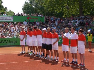Unser Team vor dem Auswärtsspiel in Mannheim am 7.7.2013