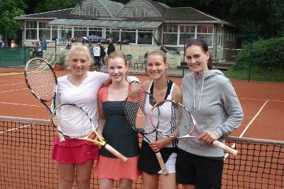 v.l.n.r.: Maria Reinmüller, Sophie Rosahl, Clara Steiner, Mandy Wengerodt