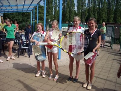 Die glücklichen Gewinnerinnen (Bild: TC Weimar)