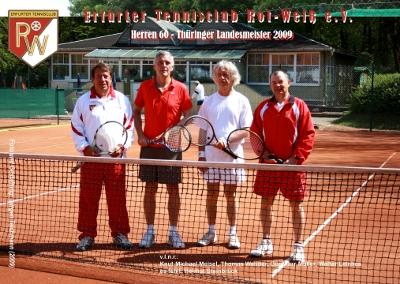 v.l.n.r.: Knut-Michael Meisel, Thomas Wender, Günther Müller, Walter Leinhos. Es fehlt Helmut Steinbrück.